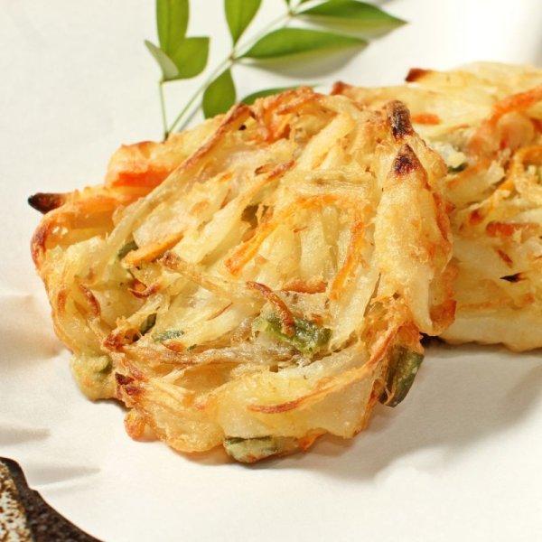 画像1: 野菜かき揚げ(4枚入り) (1)