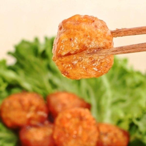 画像1: 大きな豆腐肉団子(8個入り) (1)